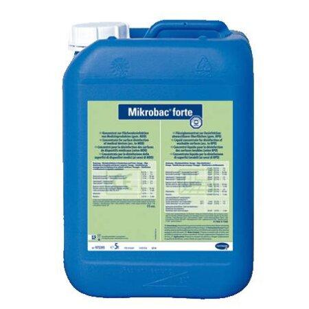 Flächendesinfektion Mikrobac forte 5 l