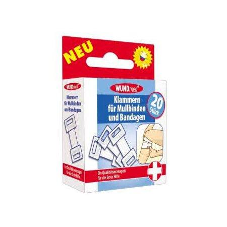 Klammern für Mullbinden und Bandagen 20er