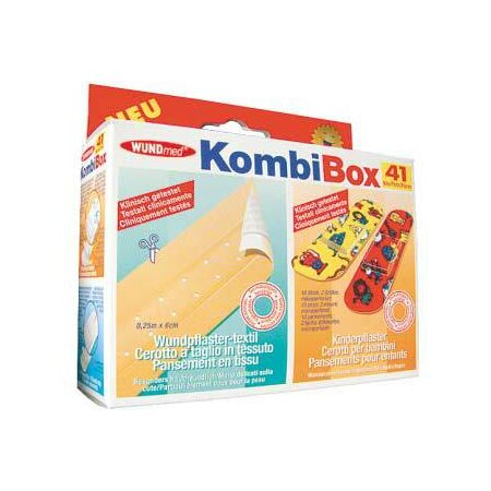Pflaster KombiBox 41-teilig
