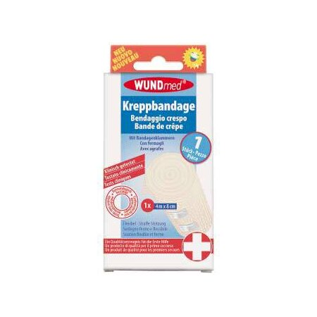 Bandage Wundmed Krepp 4 m x 10 cm