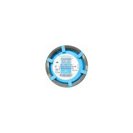 Draht Remanium halbrund hart 1,75 x 0,90mm