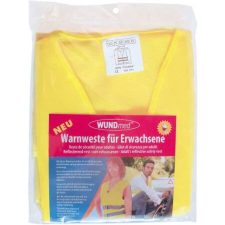 Warnweste für Erwachsene gelb