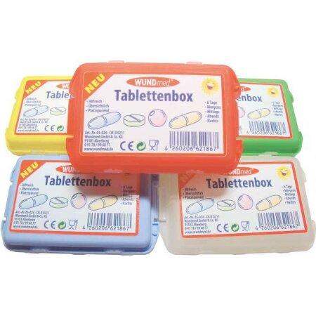 Tablettenbox 9,5 x 6,3 x 3 cm