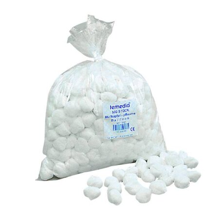 Schlinggazetupfer -  steril Ballform