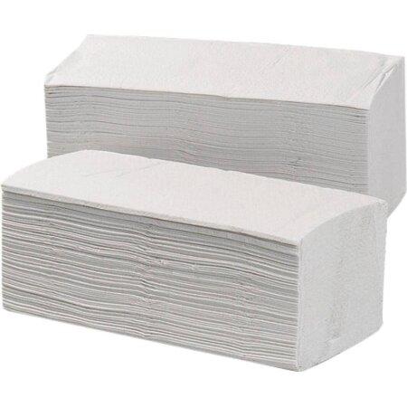 Papierhandtücher naturweiß 2- lagig