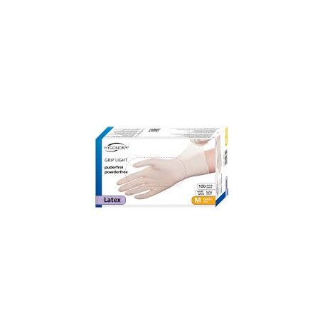 Handschuhe Latex GRIP LIGHT puderfrei