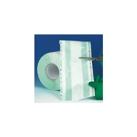 Sterilisationsfolie Eurosteril 200 mm mit 5 cm Falte