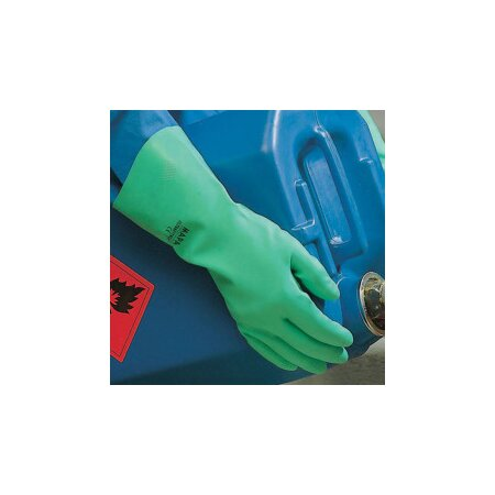 Handschuhe Nitril Ultra 492 grün 32 cm