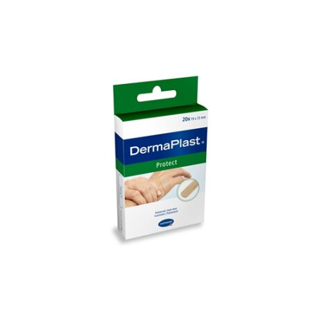 Pflasterstrips DermaPlast protect 19 x 72 mm