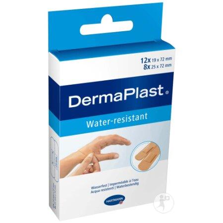 Pflasterstrips DermaPlast water resistant sortiert