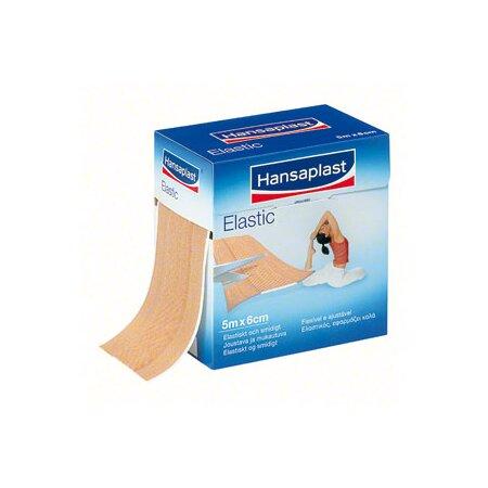 Verband Wund Hansaplast Elastic, 5 m x 6 cm