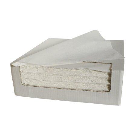 Servietten Dentalnasskrepp MONOART 34 x 38 cm weiß