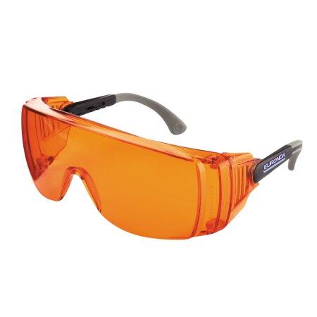 Schutzbrille Monoart Light - mit Lichtschutzfilter orange