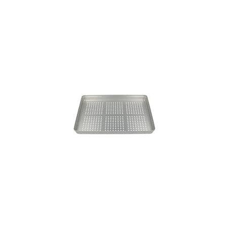 Normtray Aluminium Deckel gelocht silber