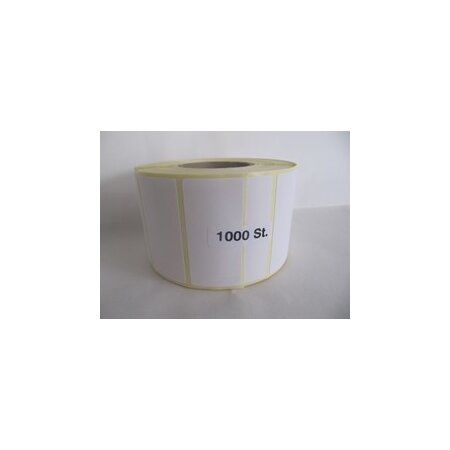 Etiketten Haft Sego TTR 1-kleb.52x25mm