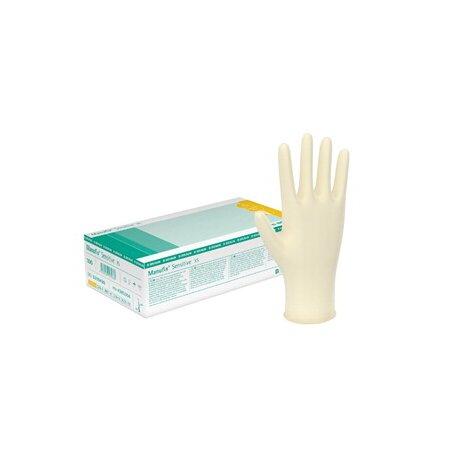 Handschuhe Latex Manufix® Sensitive, für hohe Ansprüche, puderfrei