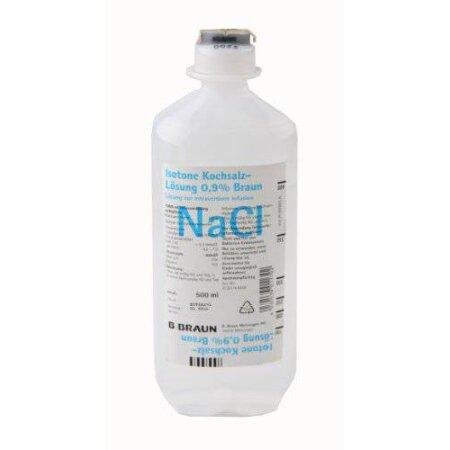 Lösung Kochsalz isotonisch 0,9% EP 500 ML DE