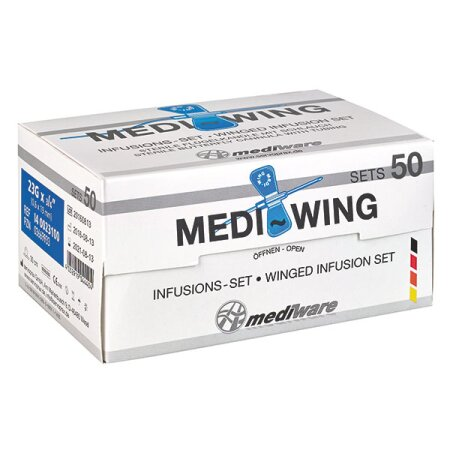 Medi-wing Infusions Set 21 G, 50 er Packung