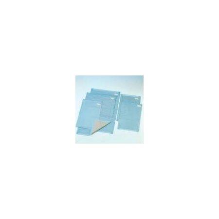 Krankenunterlagen 60 x 60 cm , 6 Lagen, blau