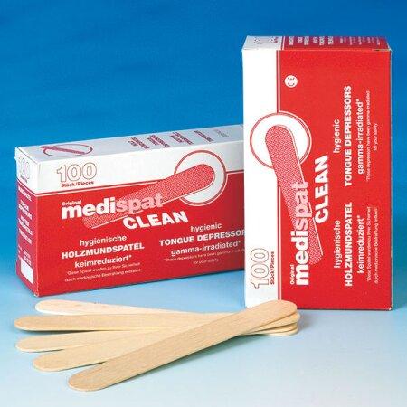 Holzmundspatel Medispat Clean vorsterilisiert
