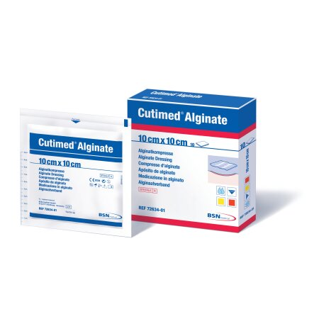 Alginate Cutimed , aus Calcium-Natriumalginat, steril