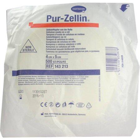 Pur-Zellin 4 x 5 cm steril und unsteril