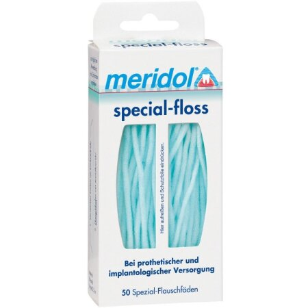 Flauschfäden Spezial Meridol special-floss 50 St