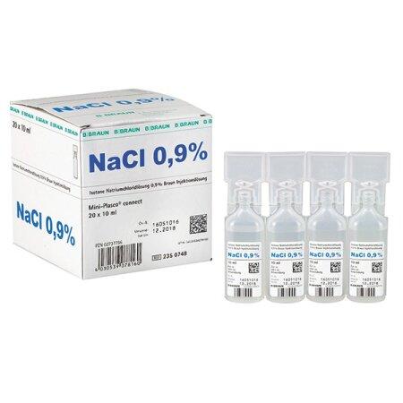 Lösung NaCl  0,9 % 20 x 10 ml