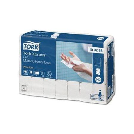 Papierhandtücher Tork Xpress Premium H2 weiß...