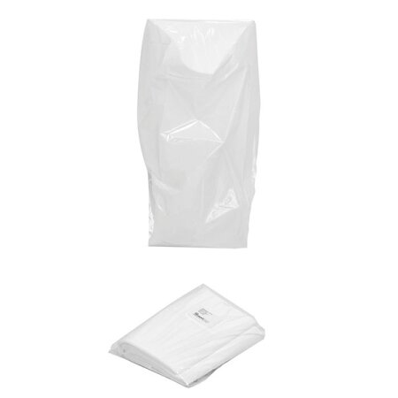 Abfallbeutel lose weiß 100 Stück