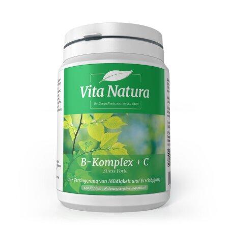 Vita Natura B KOMPLEX+C STRESS FORMULA 120 Hartkapseln