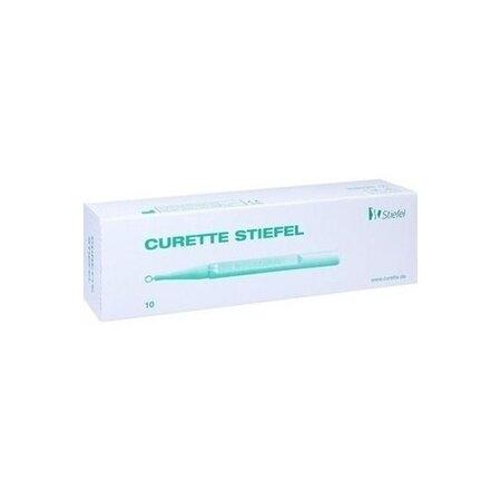 Curette Stiefel 4 mm 10 Stück