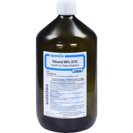 Ethanol MEK Denaturatum 80 %