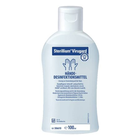 4 x Händedesinfektion Sterillium Virugard 500 ml