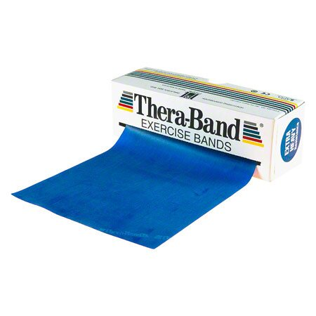 Thera-Band, 5,50 m x 12,8 cm, extra stark, blau