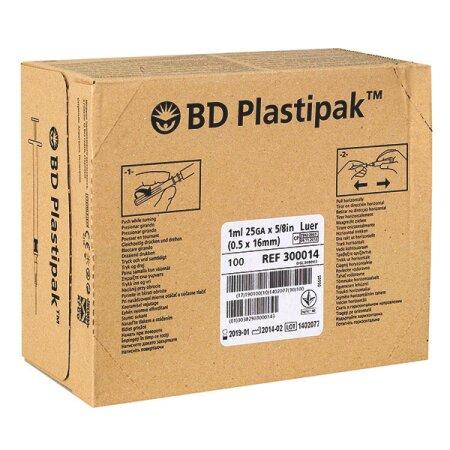 Spritzen Luer-Ansatz Plastipak , zentrisch - BD