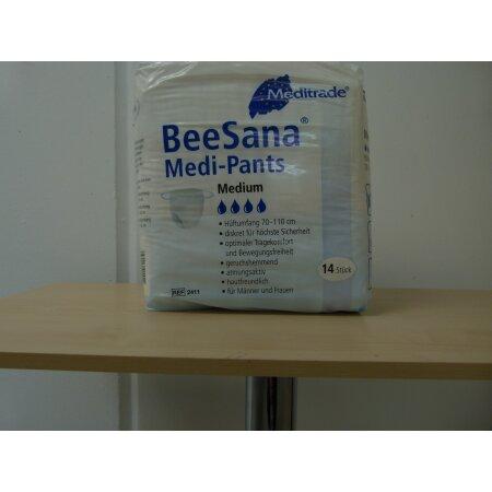 Unterhosen Einmal Medi-Pants Slips 70-110cm M weiß unsteril 14 St.