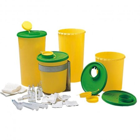 Behälter Medi-Müll Entsorgungsboxen 1,5 l