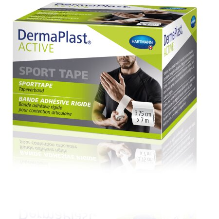 Tape DermaPlast Active Sport 3,75 cm x 7m weiss 1St