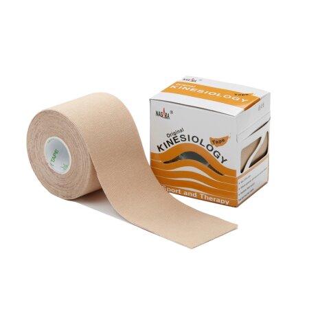 Tape Original Nasara® Kinesiology beige 5cm x 5m