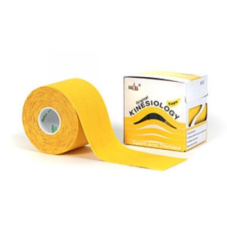 Tape Original Nasara® Kinesiology gelb 5cm x 5m