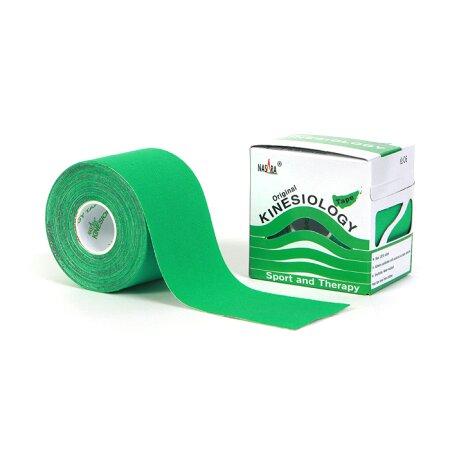 Tape Original Nasara® Kinesiology grün 5cm x 5m