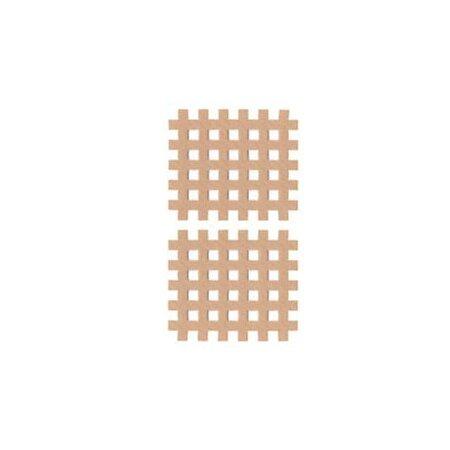 Gittertape Typ C Beige, 44 x 52mm, 20 Blatt, 2 Stück