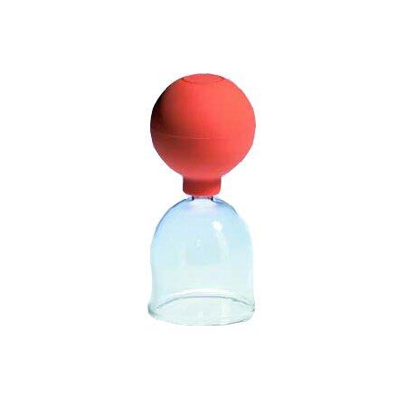 Schröpfglas mit Ball 65mm