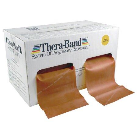 Thera-Band, 45,50 x 12,8 cm, maxi stark, gold