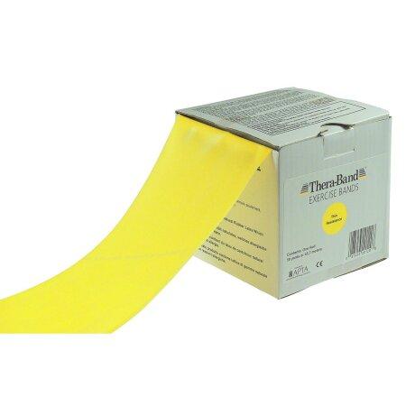 Thera-Band, 45,50 x 12,8 cm, leicht, gelb
