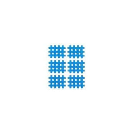 Gittertape Typ B Blau, 36 x 29mm, 20 Blatt, 6 Stück