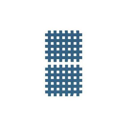 Gittertape Typ C Blau, 44 x 52mm, 20 Blatt, 2 Stück