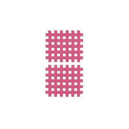 Gittertape Typ C Rot, 44 x 52mm, 20 Blatt, 2 Stück
