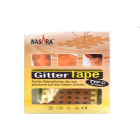 Gittertape Original Nasara Typ C 44 x 52 mm 20 Blatt a 2...